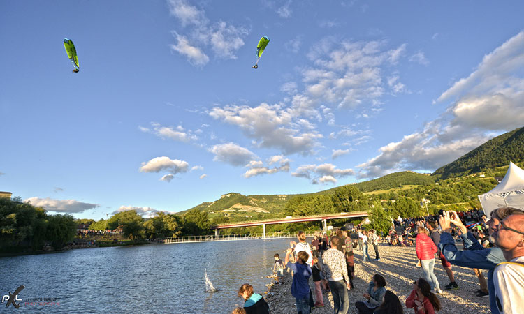 millau natural games parapente acrobatique festival outdoor sport