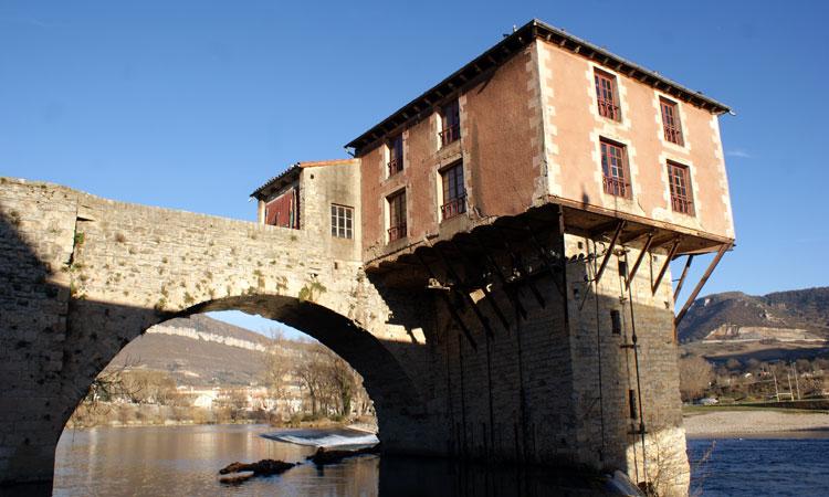 millau patrimoine vieux moulin