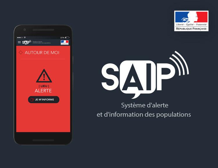 Système d'alerte de d'information des populations