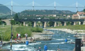 millau stade eaux vives sport aquatiques canoe kayak