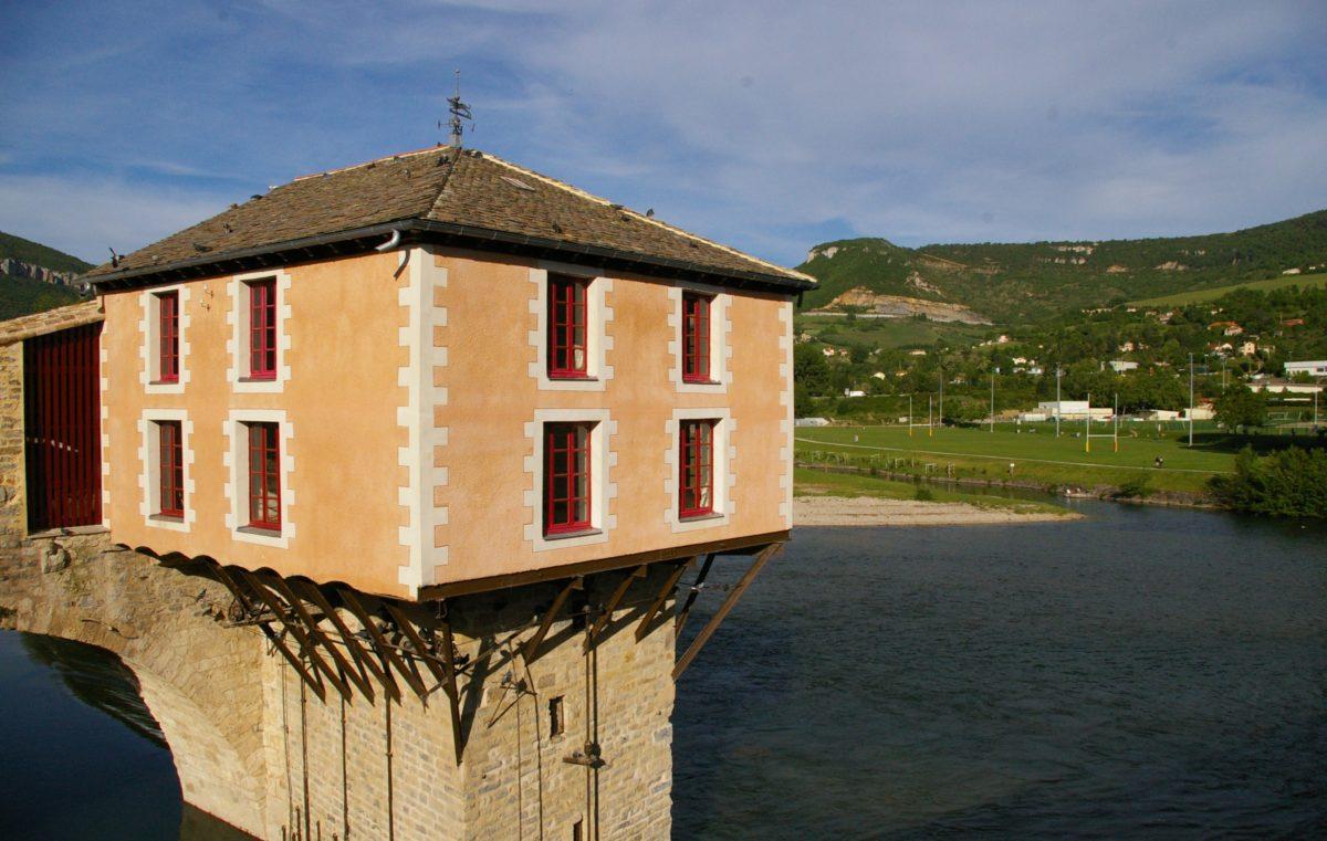 Inauguration du Pont Vieux et du Moulin
