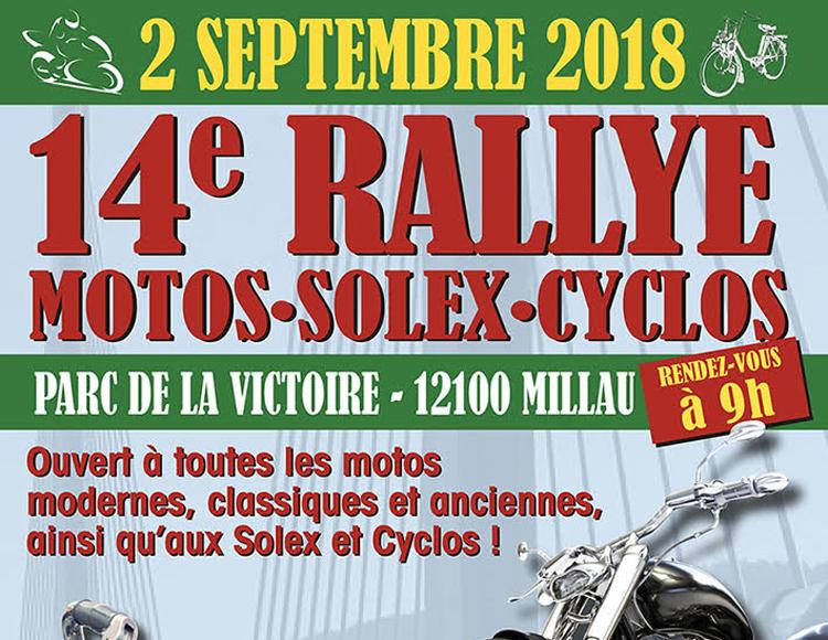 14ème Rallye motos-solex-cyclos