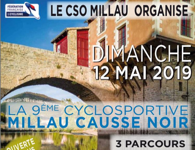 LA 9ème CYCLOSPORTIVE - MILLAU CAUSSE NOIR