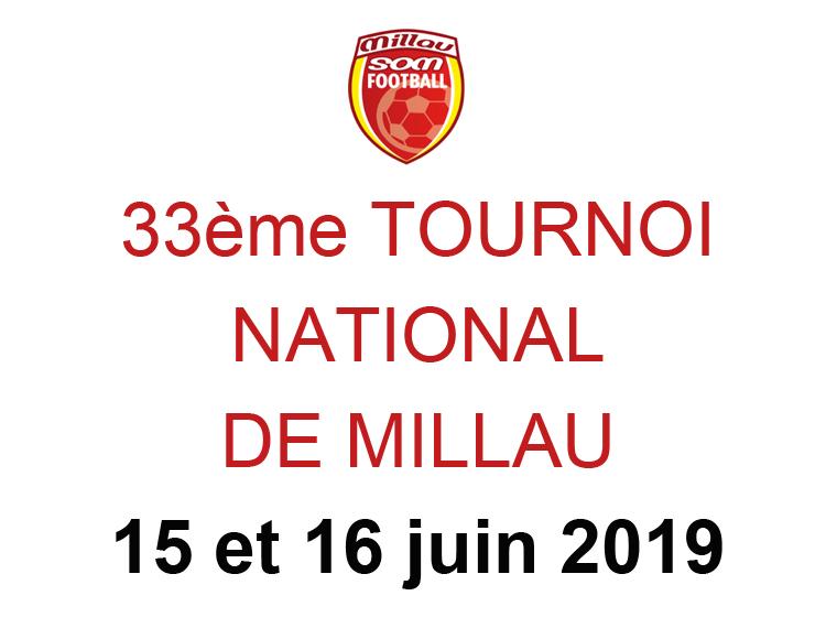 33ème tournoi national de Millau – S.O.M. Football