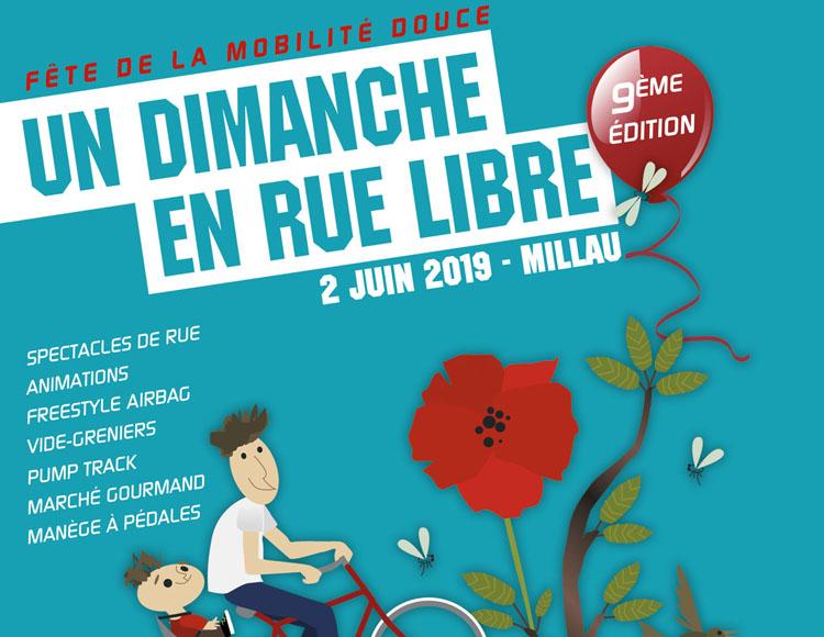 Un Dimanche en Rue Libre – Fête du vélo et de la mobilité douce 2019