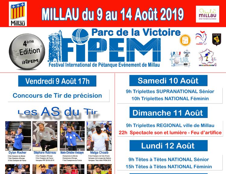 FIPEM - du 9 au 14 août