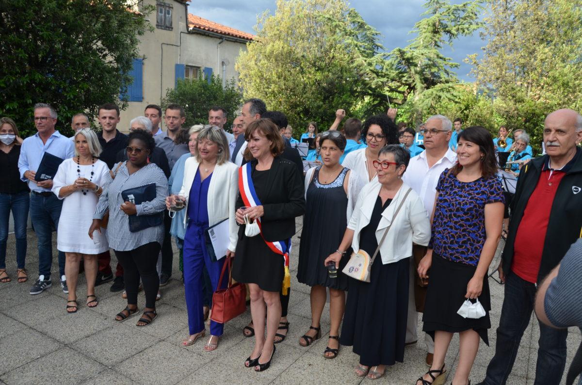 le discours d'investiture de la nouvelle Maire de Millau, Emmanuelle Gazel